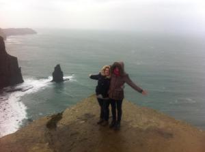 cliffs with caitlan
